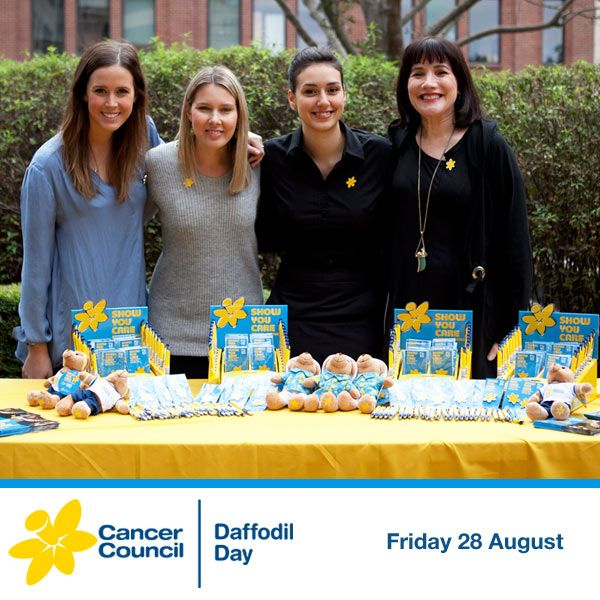 Each year, Cancer Council's Daffodil Day sees thousands of volunteers working together to raise vitally needed funds for cancer research, prevention and support services. Register as a volunteer now to help sell merchandise at a site near you this Daffodil Day: bit.ly/1Lyh6hT