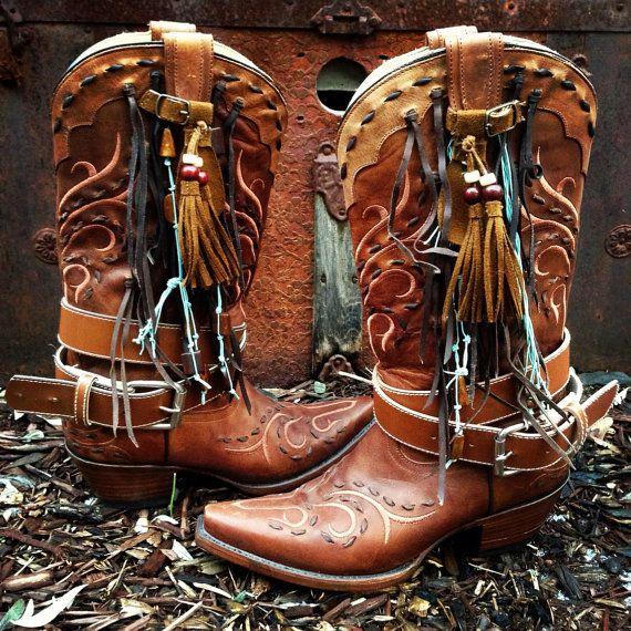 Hey, I found this really awesome Etsy listing at https://www.etsy.com/listing/176477568/leather-corral-fringed-western-cowboy