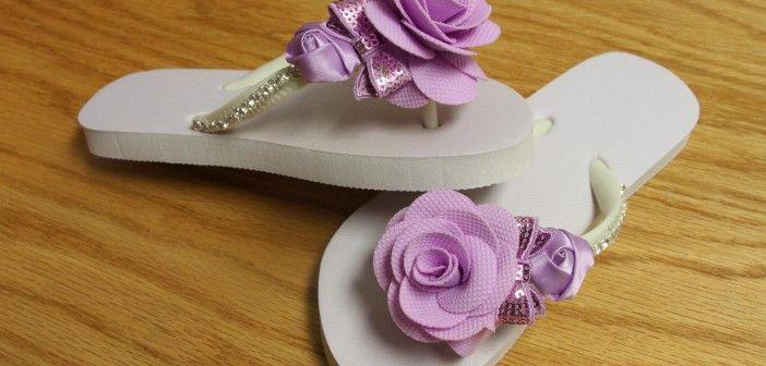 How to Decorate Summer Flip Flops