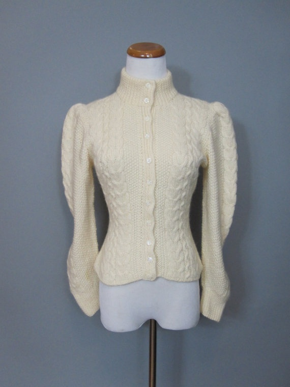 Arm Knitting Sweater : Best vintage hand knit cardigans images on pinterest