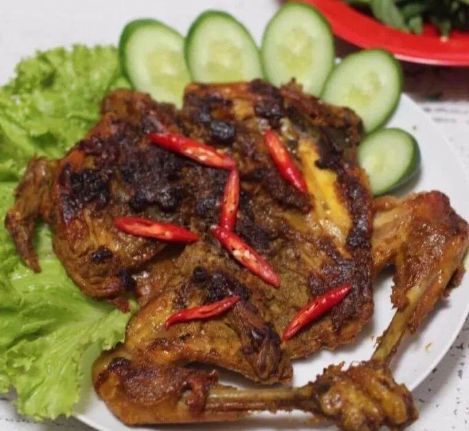 Cara Memasak Bekakak Ayam Kampung Gurih Makanan Resep Masakan Resep Makanan