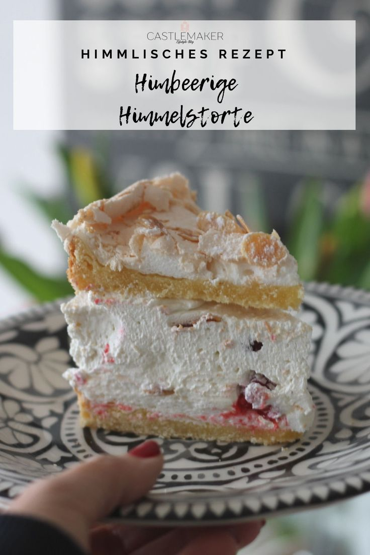 Himmelstorte mit Himbeeren & Schmand – Himbeertorte – Castlemaker Lifestyle-Blog / Food / Travel / Fashion / Beauty / Backen