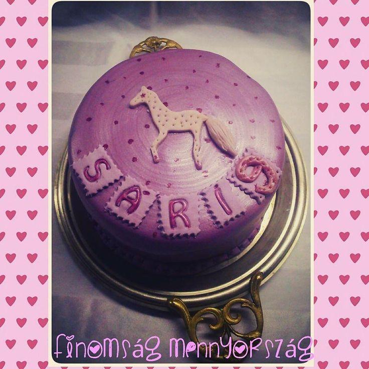 Eperhabos lovacskáa torta