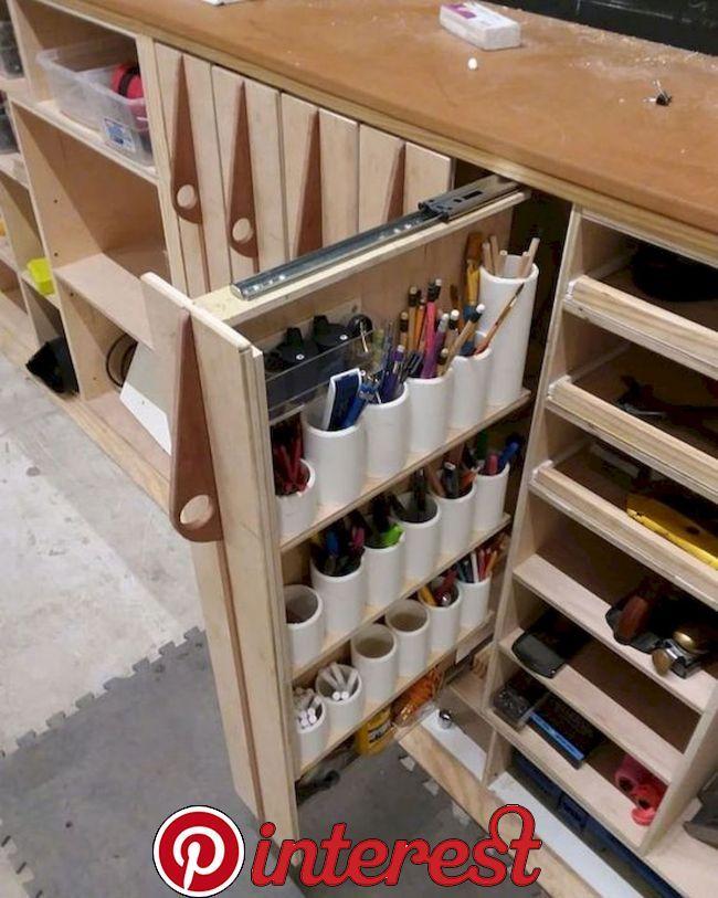 40 Inspiring Diy Garage Storage Design