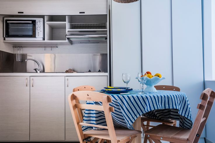 At the apartments of Epsilon you can enjoy long holidays in Faliraki, Rhodes preparing your own meals and enjoying them in the comfort of your apartment.