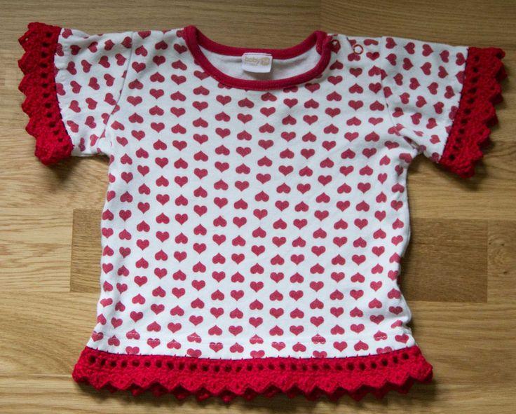 virka spets kant gratis mönster baby barn kläder
