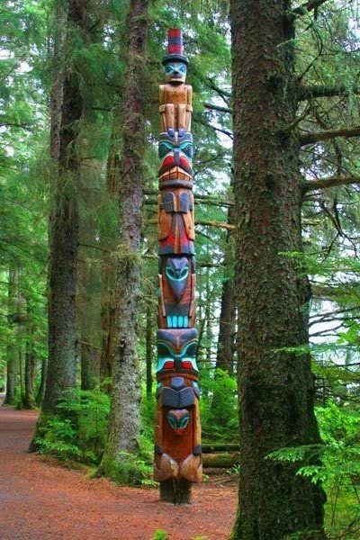 Sitka, Alaska totem pole