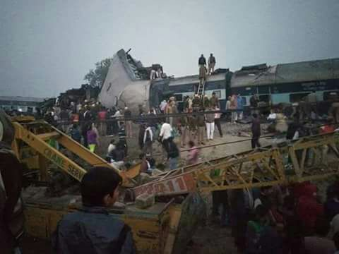 """63 dead in Indore-Patna Express derailment   """"Death toll has risen to 63"""" IG Kanpur Zaki Ahmed told new agency ANI. According to railways officials the casualties could rise as the rescue operations are under way.  """"Over 150 injured people have been rushed to nearby hospitals in the area. All hospitals have been asked to be on alert. More than 30 ambulances are pressed into service"""" the IG said adding that over 250 police officials are helping carrying out rescue and relief operations…"""