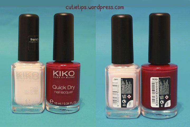 Pintauñas de Kiko.  Más productos en el HAUL de Primor y Kiko en mi blog. No os lo perdáis! :) #haul #primor #shopping #compras #babaria #Iacabine #kiko #kikocosmetics #aceite #bronceador #cutietips #beauty #belleza #cosmetics #cosméticos #champú #hidratante #protecciónsolar #lovea #eyeliner #makeup #nails #nailpoish #khol #maquillaje