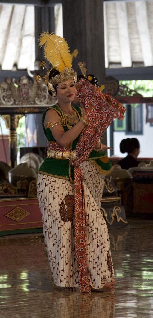Ramayana ballet dancer in Yogyakarta Indonesia