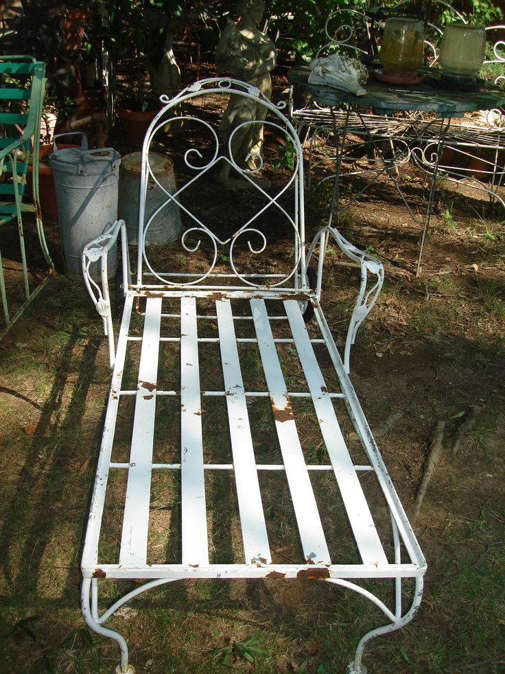 CLEARANCE SALE 150 OFF antique metal outdoor furniture ...