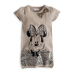 Disney Minnie Mouse Knitted Dress For Kids | Disney StoreMinnie Mouse Knitted Dress For Kids - This adorable Minnie Mouse knitted dress is sure to delight. It features a large printed Minnie design, with all-over sequins, and is topped off with a stylish leopard print bow at the neck.