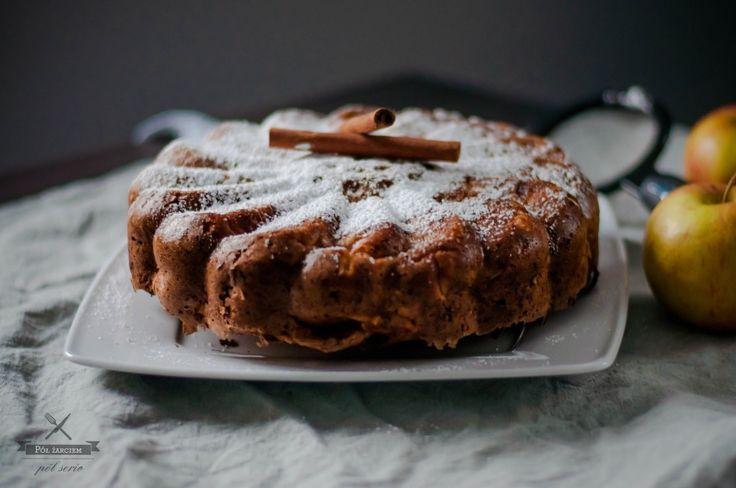 włoskie ciasto z jabłkami  italian apple cake  polzarciempolserio.pl