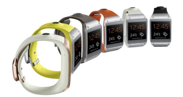 Samsung Galaxy Gear Smartwatch Launched for Rs.22,990 in India   Samsung finally has launched its new Note series 3 and first wearable tech in India named as Samsung Galaxy Gear Smartwatch along with Samsung Galaxy Note 3 at the same stage in New Delhi on Tuesday
