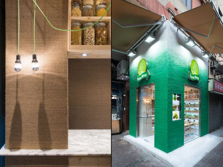 Farm Direct Concept Store By PplusP Designers Hong Kong 06
