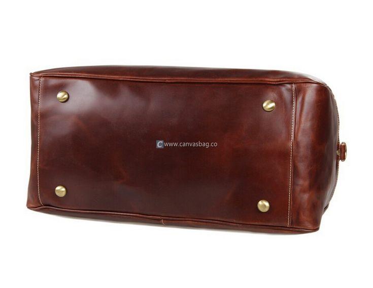 Extra Large Luggage Leather Luggage Bag Travel Luggage
