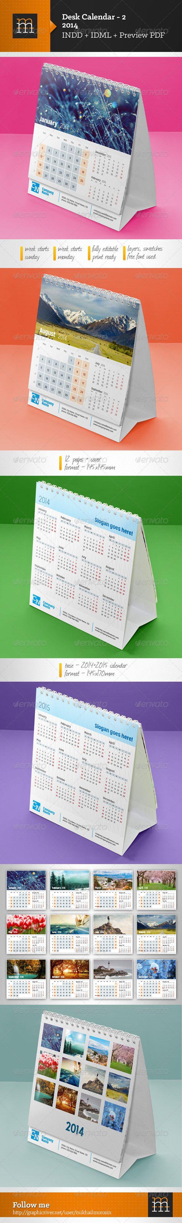 Desk Calendar-2 2014