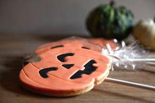 Halloween Biscuits, Biscotti con stecco per Halloween