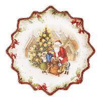 Villeroy & Boch, 'Toy's Fantasy' Блюдо для выпечки 'Дед Мороз с подарками', глубокое, 39 см