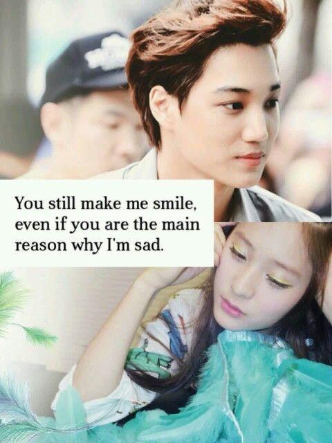 Kai and Krystal #kaistal #jongin #soojung #exo #f(x) cr: megan