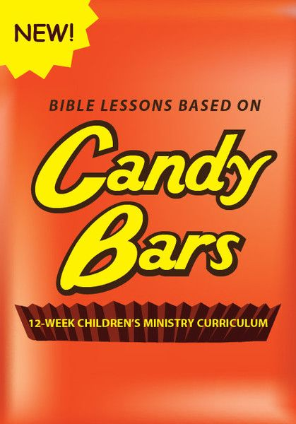 Bible Lessons Based On Candy Bars for kids church, children's ministry, or Sunday school.