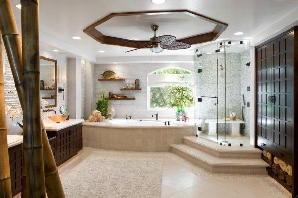 decoration-zen-bathroom-shower-cubicle-mosaic-recessed-bamboo