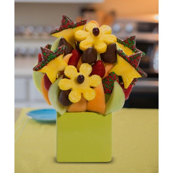 The Star Blossom scent free fruit bouquet are great for all occasions and make great gifts ideas or decorations from a proud Canadian Company. Great alternative to traditional flowers or fruit baskets