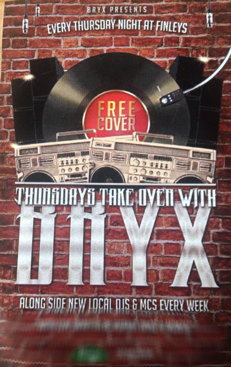 Set from takeover THURSDAYS may 22 at finley's with bryx mc numz and dsun http://www.mixcloud.com/djsavmarie/last-half-of-set-from-bryx-thursday-takovers-may-22/
