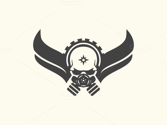 Skull game by Brandlogo on Creative Market