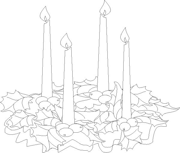advent coloring pages for adults - photo#37