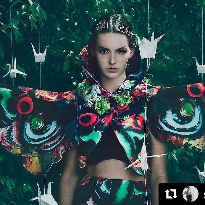 It's going to be a big year for #avamodels with growth opportunities with #nuclearmedia and expanding international business. Here is another page from the #ferocemagazine #fashionCover and #editorial. ThisTeam have created astonishing fashion art in this shoot.#Repost @stephvella @ferocemagazine