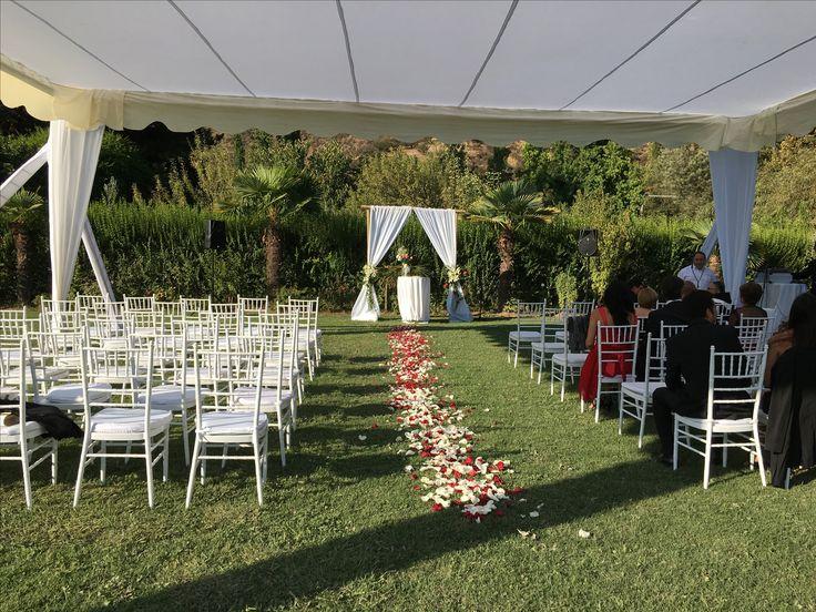 Arcos ceremonia