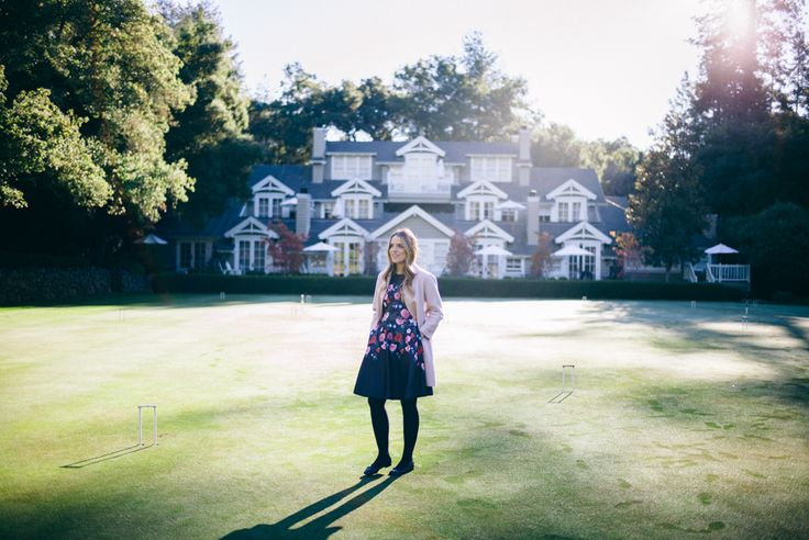 Morning at Meadowood - Gal Meets Glam Floral Dress