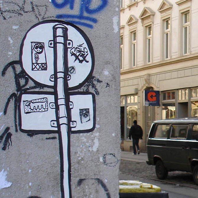 Resultado de imagen para sticker graffiti street art