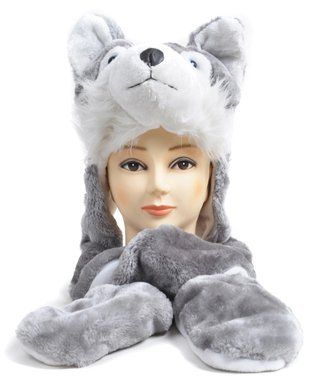 `Hat-imals` Plush Animal Winter Hats with Paws (Collection 4)