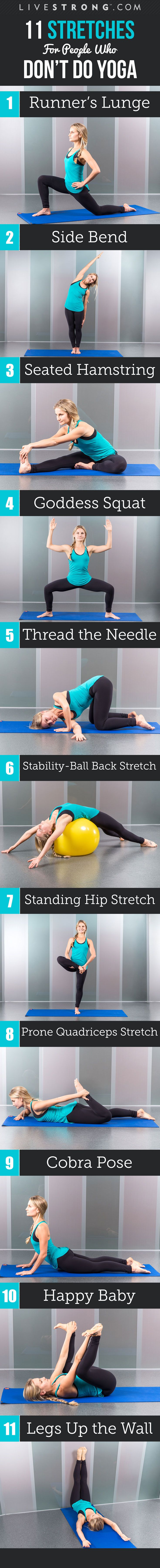 11 Stretches That Everyone Can Do!