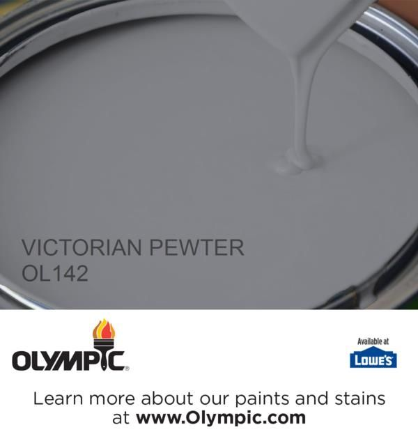VICTORIAN PEWTER OL142 is a part of the blues collection by Olympic® Paint.