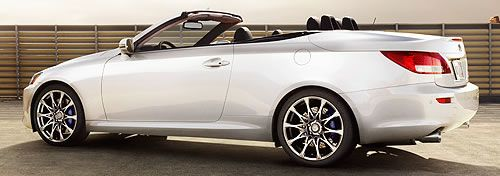 2011 Lexus IS 250 C 2-Door 4-Seat Hardtop Convertible...I'd settle for one of these...