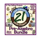 12 of my best selling projects/units all in an organized money saving bundle! These engaging, student/teacher approved math projects that provide r...