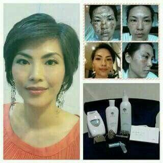 Facial galvanic by nu skin.