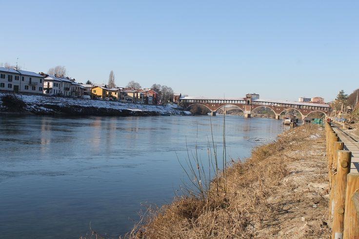 Itinerario pesca Ticino a Pavia
