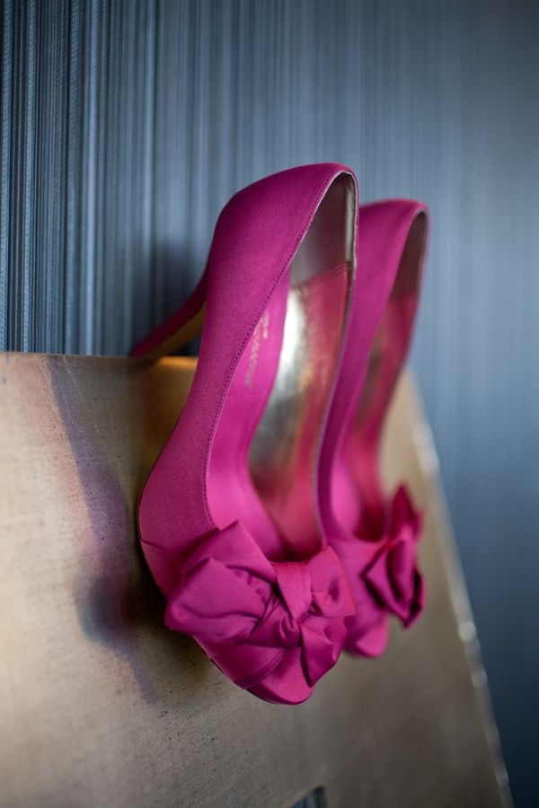 Hot Pink Wedding Shoes And Modern Washington Dc On Capitol Hill Natalie Trace