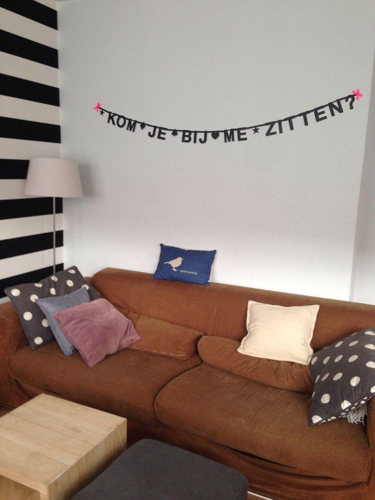 #Wordbanner #tip: Kom je bij me zitten - Buy it at www.vanmariel.nl - € 11,95