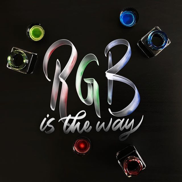 RGB is the way... or not?