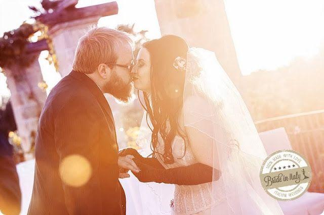Bride in Italy: Real Wedding   Gotico e dark, tra rose e farfalle   Youness Taouil