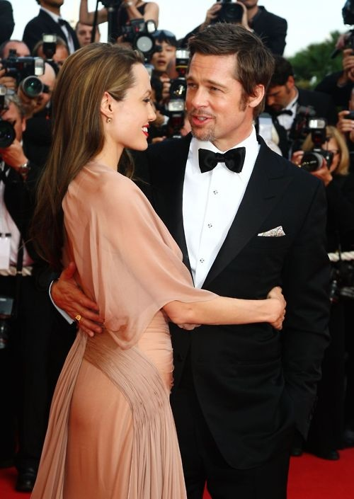 Angelina Jolie and Brad Pitt at the 2009 Cannes Film Festival