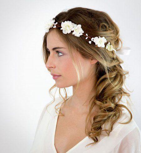 48 best ideas about Coiffures de mariage on Pinterest | Bandeaus ...