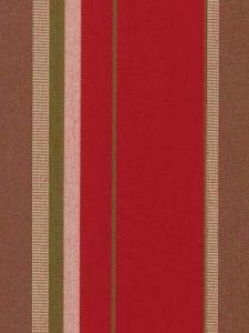 Robert Allen - Wide Stripe - Scarlet