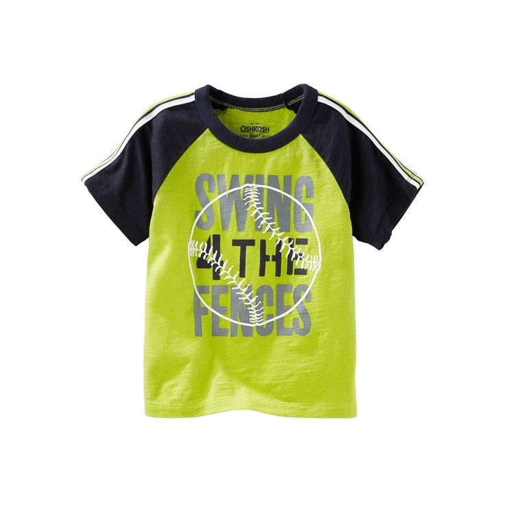 Boys 4-8 OshKosh B'gosh® Sport Graphic Tee, Boy's, Size: 4, Green