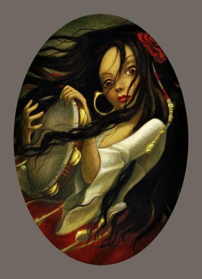 """""""Esmeralda"""" Benjamin Lacombe"""
